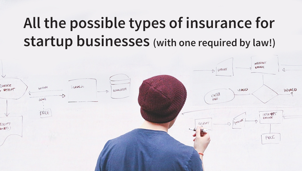 Read the full article All the possible types of insurance for startup businesses (with one required by law!)
